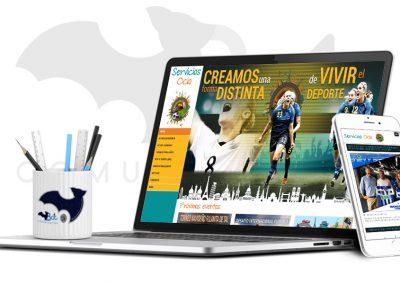 Web SERVICIOS OCIO