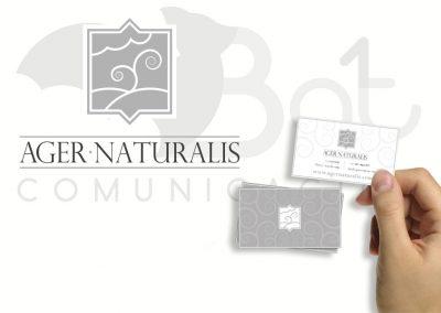 Logotipo AGER NATURALIS
