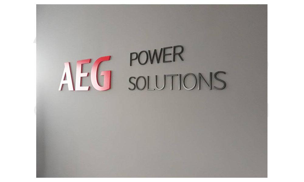 Rótulos y señalética AEG