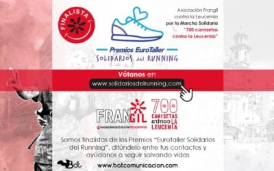 700 camisetas contra la leucemia opta al Premio Eurotaller Solidario