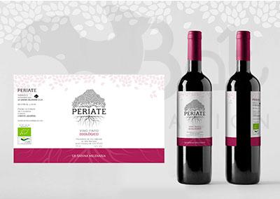 Etiqueta de vino Periate