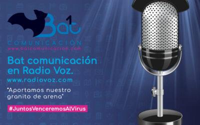 Entrevista a Bat Comunicación en Radio La Voz con Eva Millán. Programa Voces de Galicia